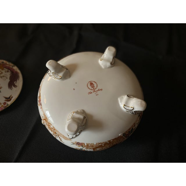 1970s Crown Derby Covered Soup Tureen For Sale In West Palm - Image 6 of 10
