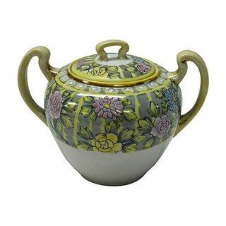 Nippon Hand-Painted Sugar Bowl