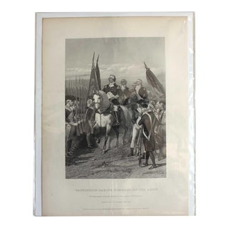 Washington Taking of the Army, Print For Sale