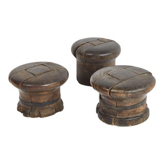 Antique French Wooden Hat Sculpture For Sale