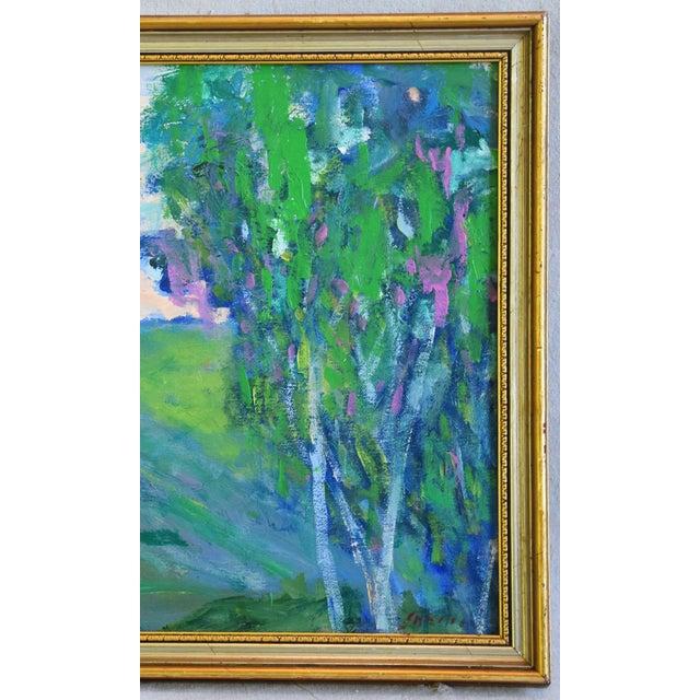 "Late 20th Century Original Juan ""Pepe"" Guzman, Ojai California Landscape Oil Painting For Sale - Image 5 of 9"