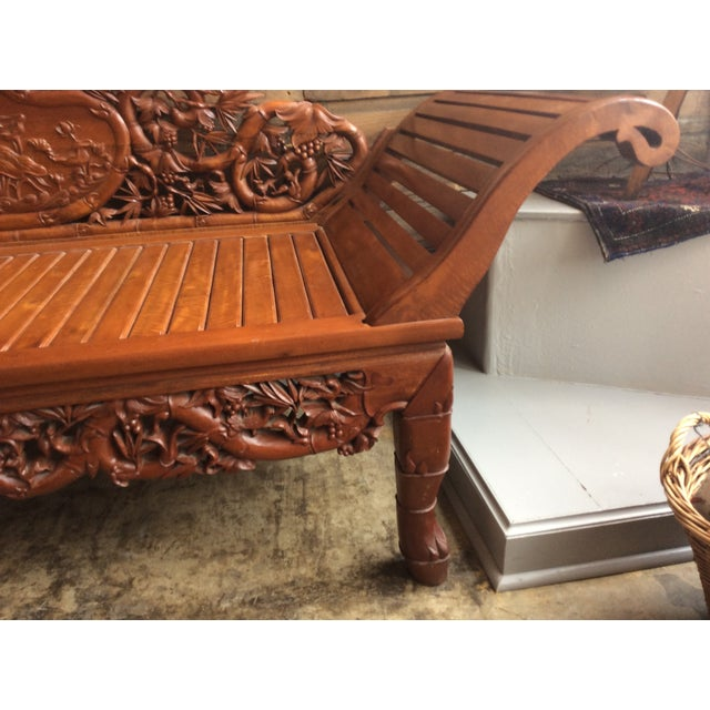 of lounge product hand height aspect chaise fit chairish width image carved vietnamese wood