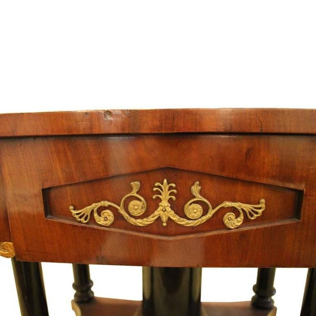 Traditional Biedermeier Drop Leaf Table - Image 4 of 9