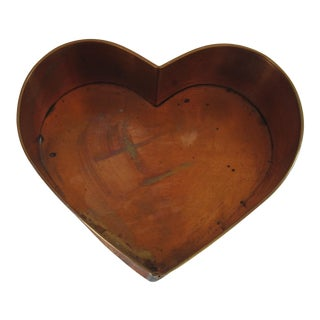 Hand-Made Copper Heart For Sale