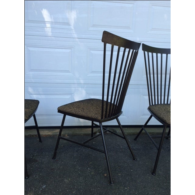 1950's Mid-Century Metal Dining Chairs - 6 - Image 6 of 11