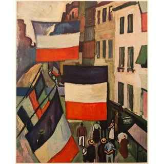 1950s Raoul Dufy, Parisian Street Vintage Lithograph For Sale