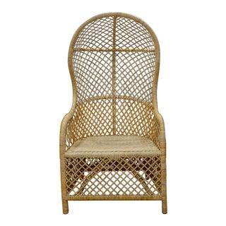 Noir Gigi Rattan Chair