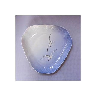 Danish Blue and White Seagull Plate Preview