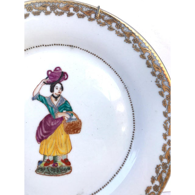 Asian Kitchen Decorative Plates - Set of 6 For Sale - Image 3 of 11