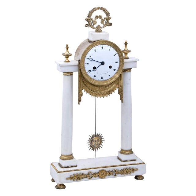 19th Century French Mantel Clock For Sale