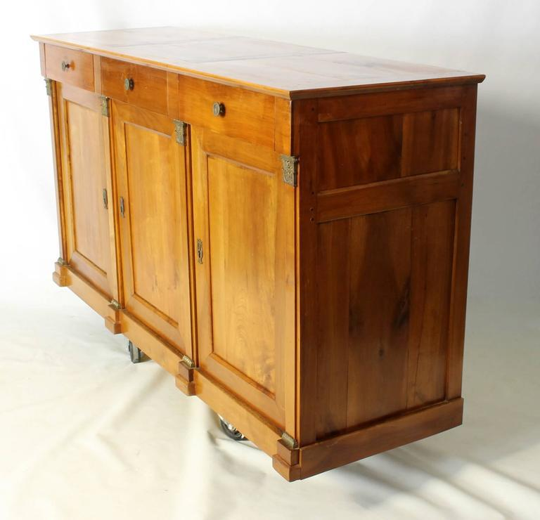 19th Century French Cherrywood Buffet Cabinet   Image 2 Of 7