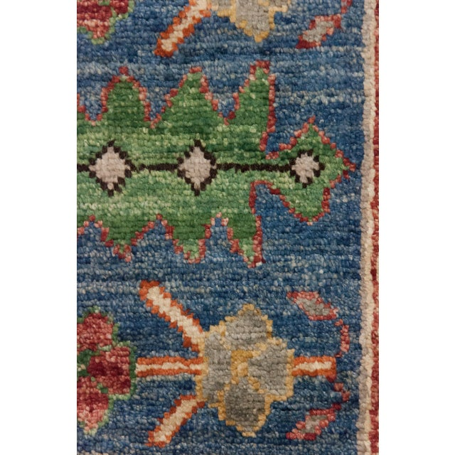 "New Blue Traditional Hand-Knotted Rug - 8'4"" x 9'8"" - Image 3 of 3"