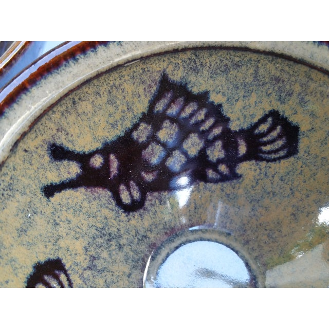 1970s Chinese Hand Thrown Zodiac Bowls - Set of 4 For Sale - Image 5 of 6