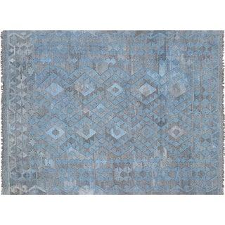 "Contemporary Afghan Maimana Kilim - 4'10"" X 6'6"" For Sale"