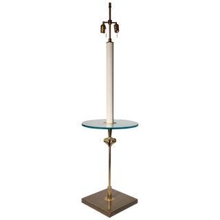 Tommi Parzinger Floor Lamp Table by Parzinger Originals For Sale