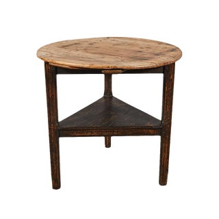 English Cricket Table Circa 1800 For Sale