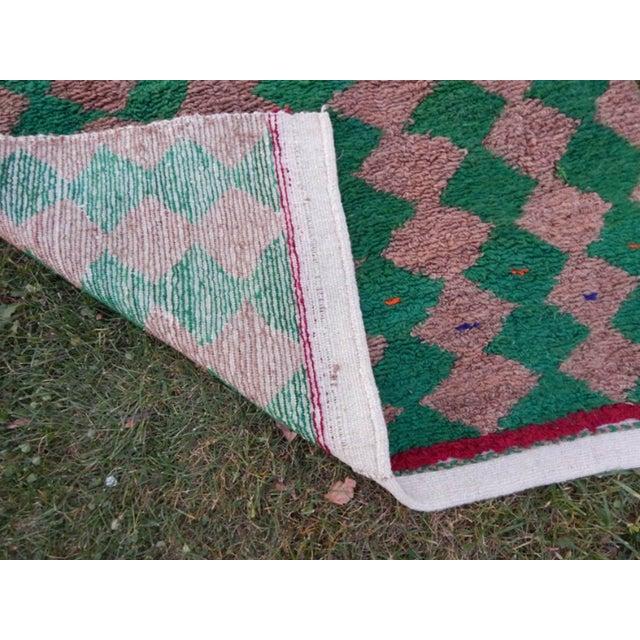 Modern Turkish Angora Tulu Rug For Sale - Image 11 of 12