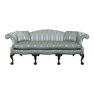 Kittinger Cw-174 Colonial Williamsburg Clawfoot Mahogany Sofa For Sale