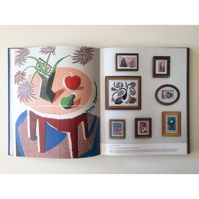 """Paper David Hockney """" That's the Way I See It """" Vintage 1993 First Edition Hardcover Pop Art Book For Sale - Image 7 of 13"""