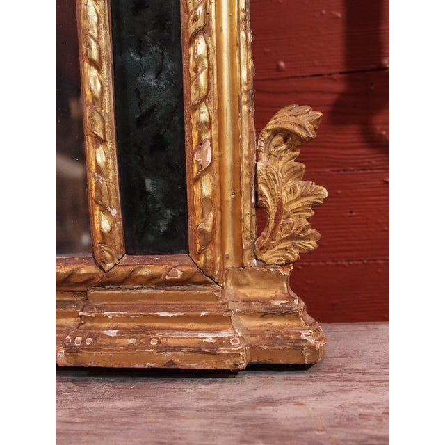19th Century Italian Gilt Wood Mirror - Image 4 of 8