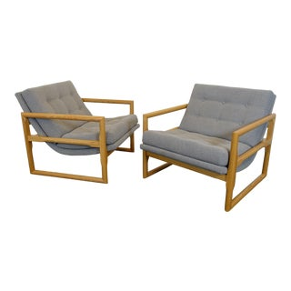Mid Century Modern Inspired Club Chairs - A Pair For Sale