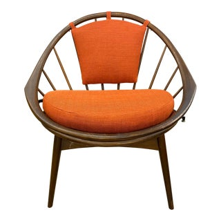 1960s Ib Kofod Harsen Hoop Chair For Sale