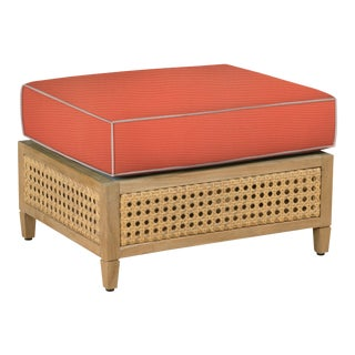 Keys Ottoman, Melon and Blush For Sale