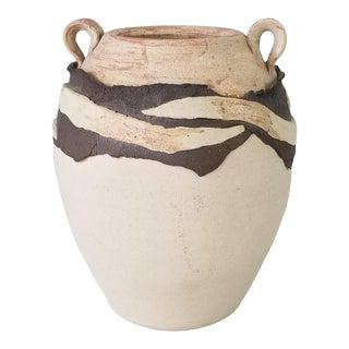 1980s Van Studio Pottery Vase For Sale