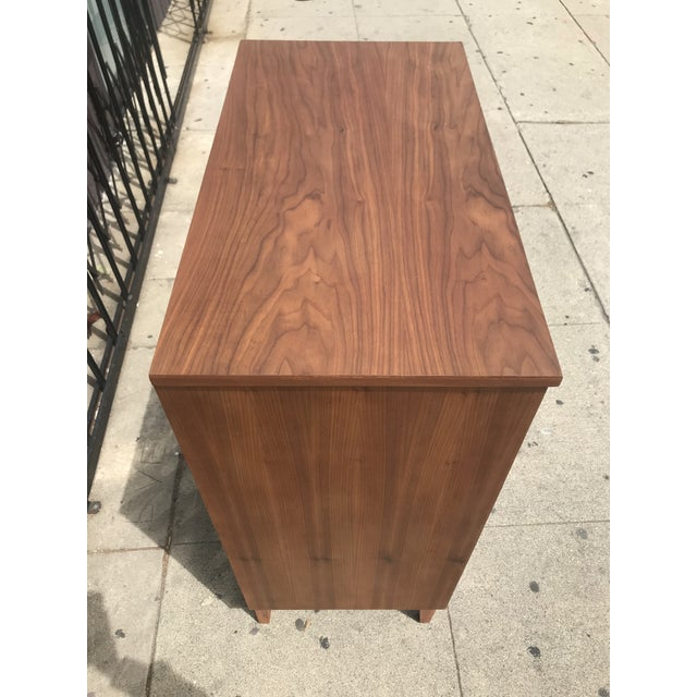 Mid-Century Modern 5 Drawer Highboy By Dixie For Sale - Image 3 of 8