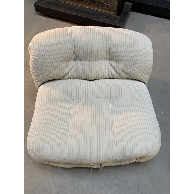 Afra & Tobia Scarpa Soriana Lounge Chair for Cassina Italy 1970s - One Remaining For Sale - Image 9 of 13