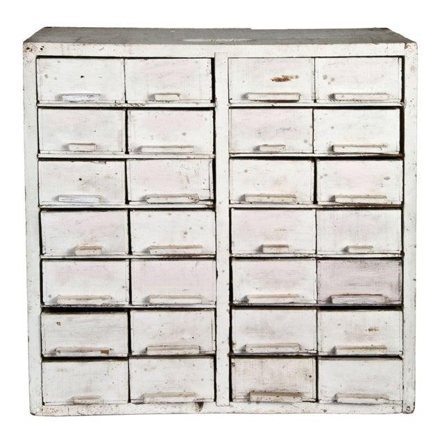 Handmade 28-Drawer Cheese Box Cabinet - Image 1 of 4