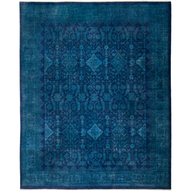 """Vibrance Hand Knotted Area Rug - 8' 0"""" X 9' 10"""" - Image 4 of 4"""