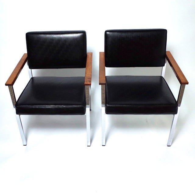 Knoll 900 Executive Art Metal Inc Chairs - a Pair - Image 2 of 7
