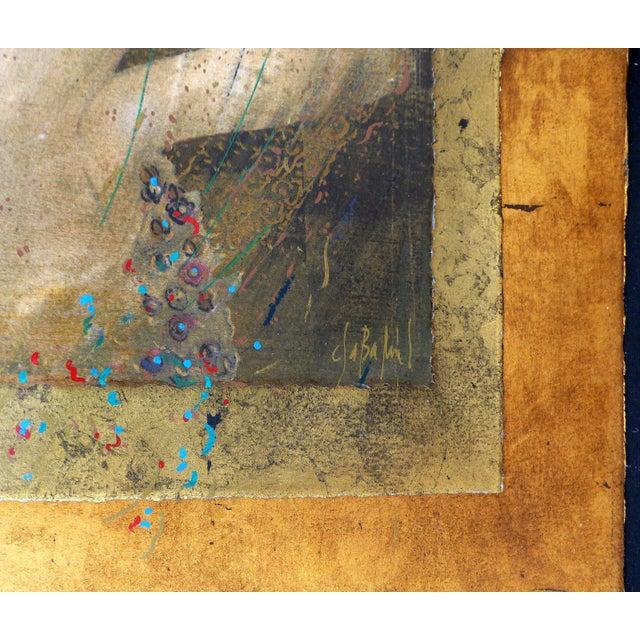 """Athena"" Serigraph by Csaba Markus - Image 3 of 8"