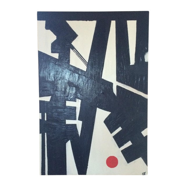 """Heartbreak"" Acrylic on Canvas Painting - Image 1 of 3"