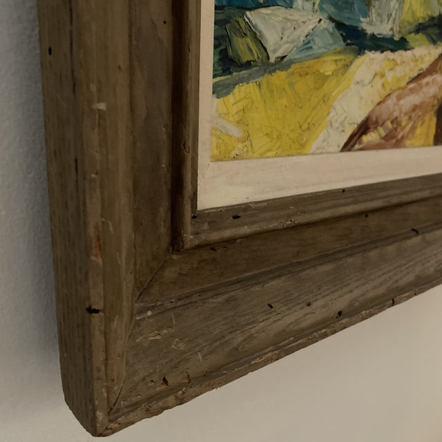 1960s Seascape Painting, Framed For Sale In Miami - Image 6 of 9