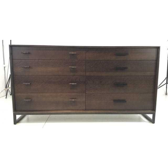 Black Caracole Modern Artisan Walnut Finished Dresser For Sale - Image 8 of 8