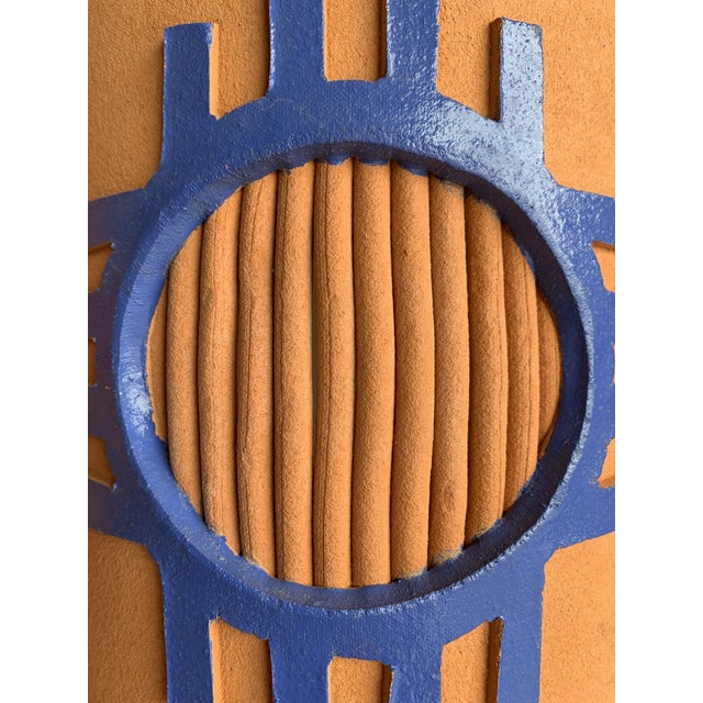 1980s Southwest Taos Terra Cotta Sconce Covers - Set of 3 For Sale - Image 12 of 13