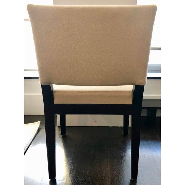 Fabric Modern Desiron Dining Chairs - Set of 8 For Sale - Image 7 of 10