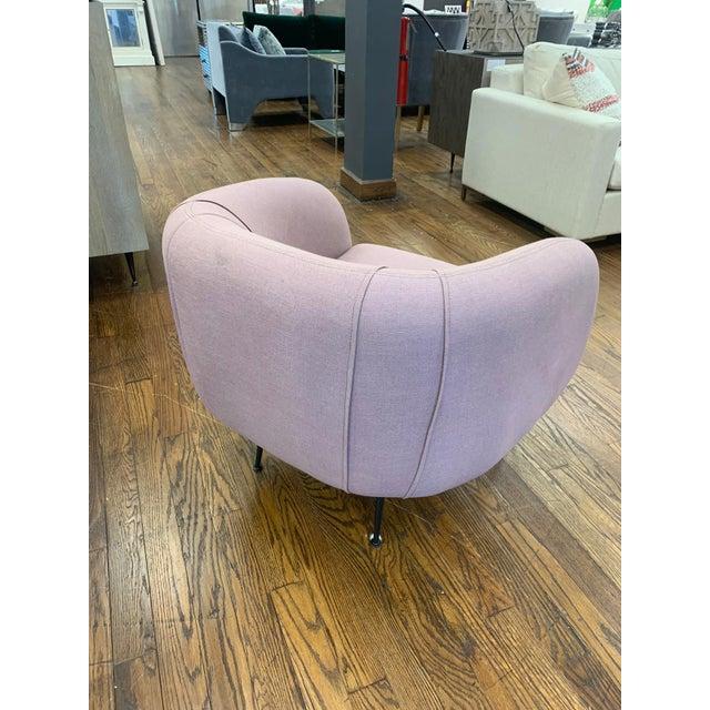 Modern Modern Sepli Lavender Chair For Sale - Image 3 of 7