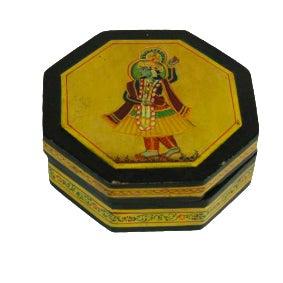 Hem Mughal Painted Box For Sale