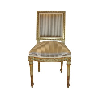 Antique Louis XVI Style Side Chairs - A Pair