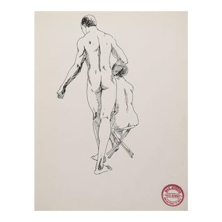 Nude Study of Man & Woman For Sale
