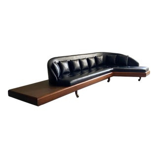 """Monumental Mid Century Modern """"Boomerang"""" Sofa Designed by Adrian Pearsall For Sale"""