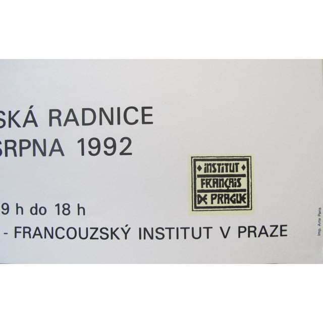 1990s 1992 Original Exhibition Poster, Institut Français De Prague - Calder For Sale - Image 5 of 7