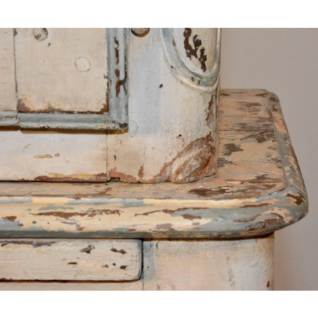 19th Century Country French Wire Front Cupboard For Sale - Image 9 of 11
