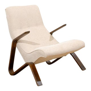 Beautiful Early Grasshopper Chair by Eero Saarien for Knoll For Sale