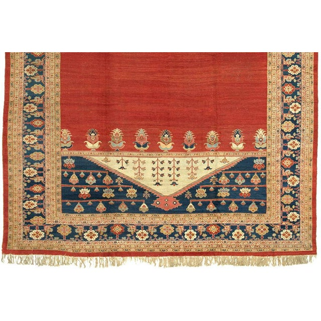 Woven in central Persia as fine export pieces specifically for the European market during the late 19th century, Ziegler...