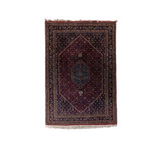 Vintage Indo Bidjar Bodi Rug- 4′2″ × 6′1″ For Sale
