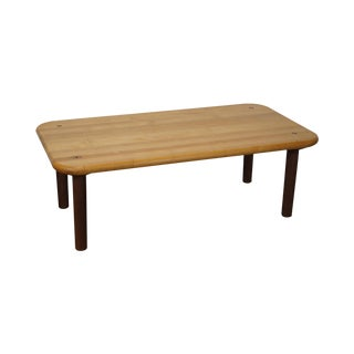 Knoll Morrison Hannah Maple Top Coffee Table For Sale